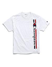 Champion Men's Classic Jersey Tee, Vertical Logo