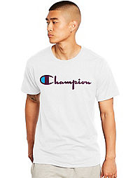 Champion Men's Tee, Vintage Logo