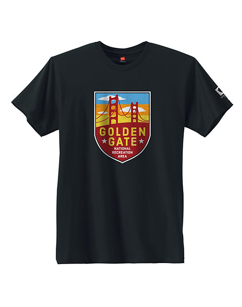 Hanes Golden Gate National Park Graphic Tee