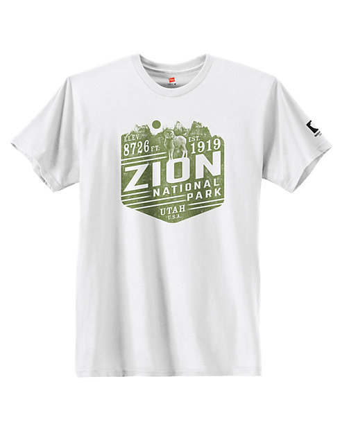 Hanes Zion National Park Graphic Tee