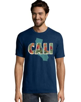 Hanes Men's California Postcard Graphic Tee
