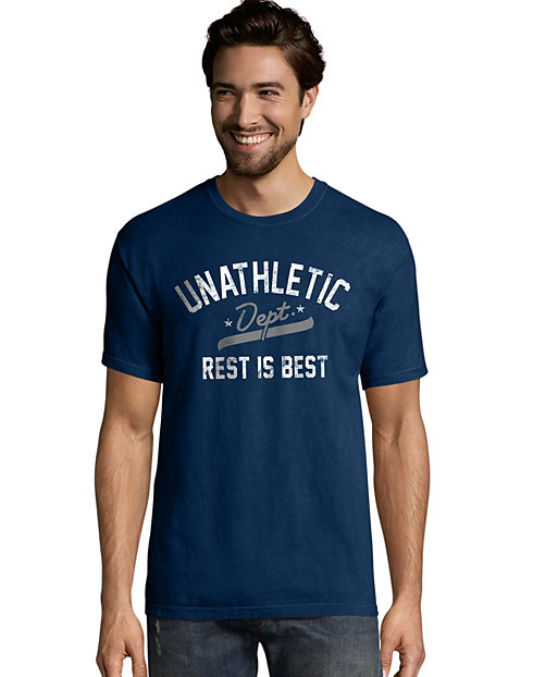 Hanes Men's Unathletic Dept. Graphic Tee