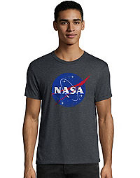 Hanes Men's NASA Meatball Graphic Tee