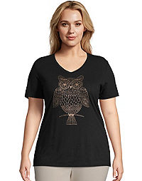 JMS Whoot Whoot Short Sleeve Graphic Tee