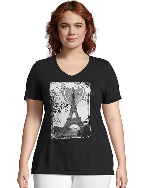 JMS L'Amour Paris Short Sleeve Graphic Tee