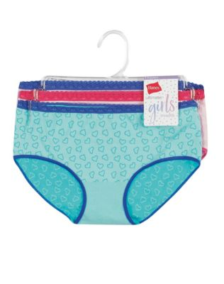 Hanes Girls' Seamless Hipster 3-Pack
