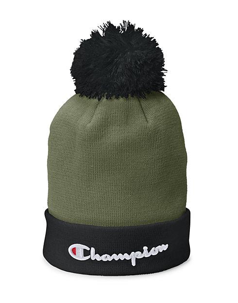 Champion Life® Script Knit Pom  4504baeefe3