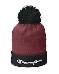 Champion Life® Script Knit Pom