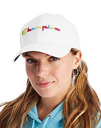 Champion Life Classic Baseball Twill Hat, Pop Color Logo