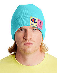 Champion Life Beanie, Pop Color Jock Tag