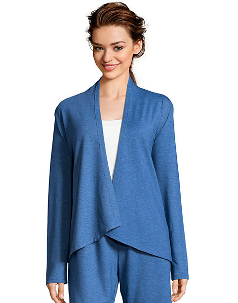 Hanes Women's French Terry Lounge Wrap