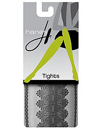 Hanes Lace Sheer Tights