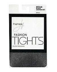 Hanes Chevron Net Tights