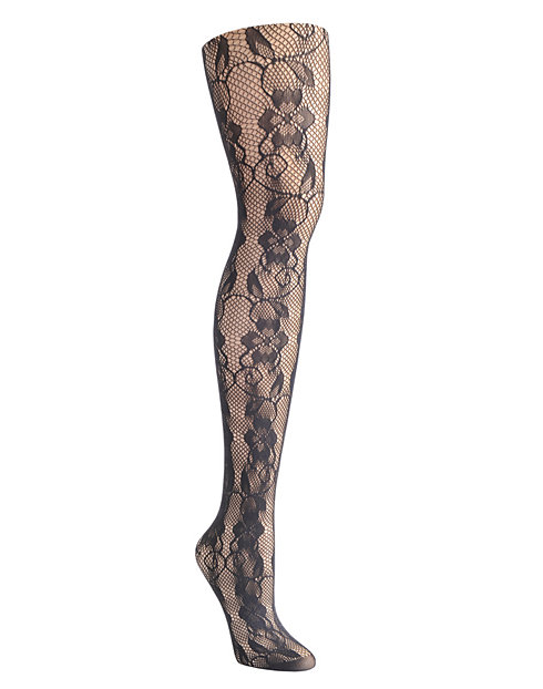 Hanes Lace Fashion Tights
