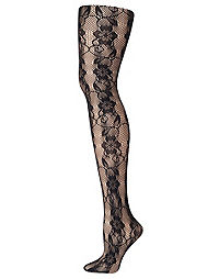 Hanes Curves Lace Fashion Tights