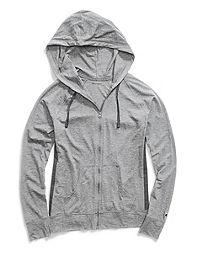 Champion Women's Heathered Jersey Jacket