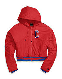 Champion Life® Women's Filled Fashion Jacket, Block Logo