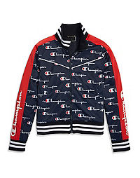 Champion Life® Women's Tricot Track Jacket, All Over Logo
