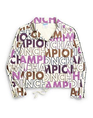 b124007bf Shoptagr | Champion Life® Women's Zipper Tape Cropped Coaches Jacket ...