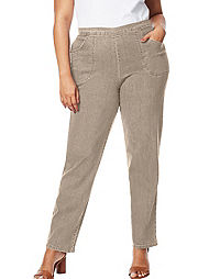 JMS 2-Pocket Flat-Front Jeans, Tall Length