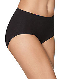 Hanes Smooth Illusions® Brief Panties 3-Pack
