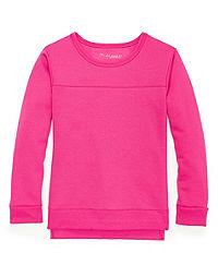 Hanes Girls' High-Low Sweatshirt