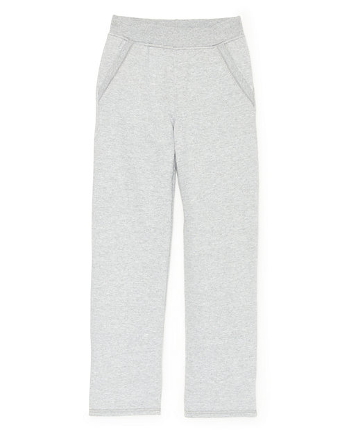 Hanes Girls' Fleece Open Leg Sweatpants with Pockets