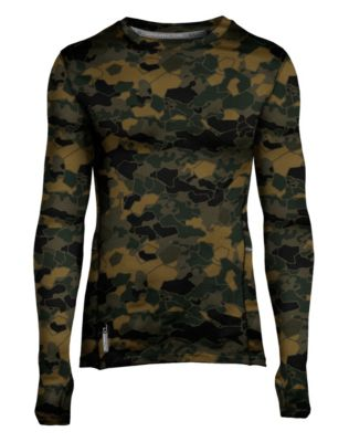 Duofold® Varitherm® Men's Brushed Back Print Baselayer Crew