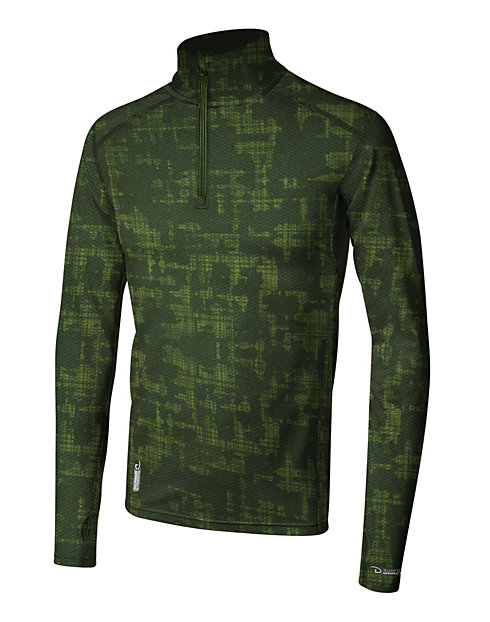 Duofold by Champion THERMatrix™ Men's Printed 1/4 Zip Pullover
