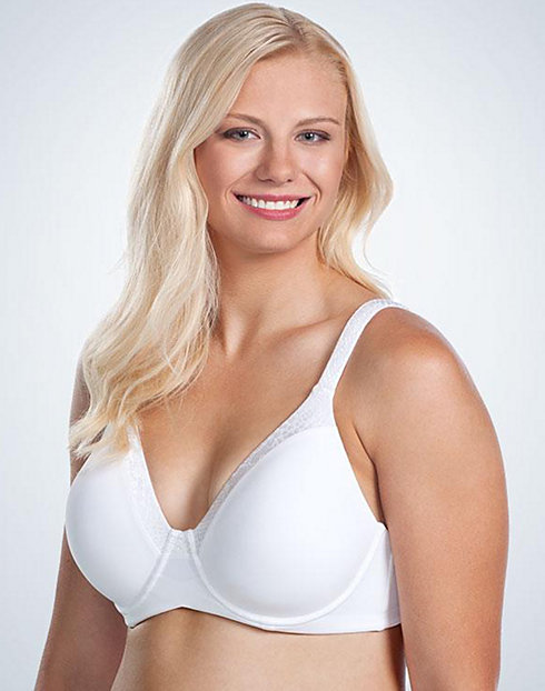 Leading Lady Balconette Wirefree T-Shirt Bra with Tuxedo Neckline