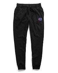 Champion Women's Powerblend® Fleece Joggers, Felt C Logo