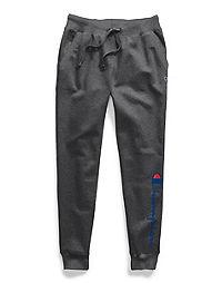 Champion Women's Powerblend® Fleece Joggers, Two-color Vertical Logo