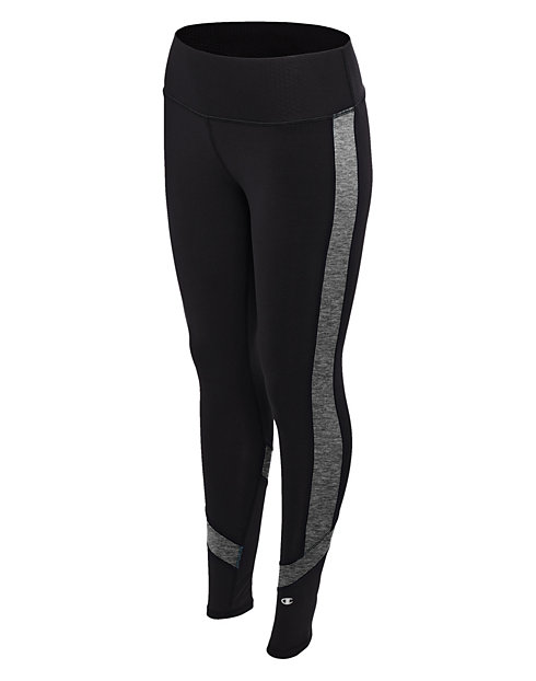 Champion Women's Absolute Colorblock Tights With SmoothTec™ Waistband