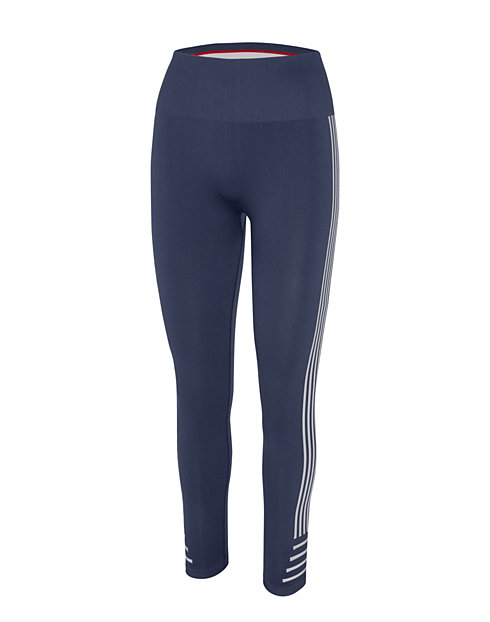 Champion Women's Seamless 7/8 Striped Tights