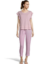 Muk Luks® Flutter Sleeve Sleep Set