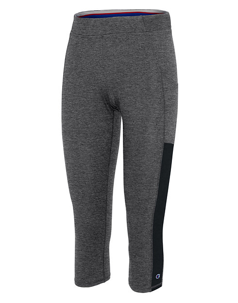1fb28f0754ea6 Champion Women's Phys. Ed. Capris With Side Pocket | OneHanesPlace