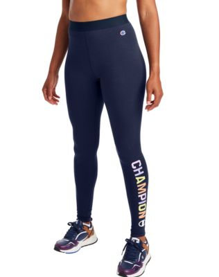 Champion Women's Authentic Leggings, Pop Color Logo