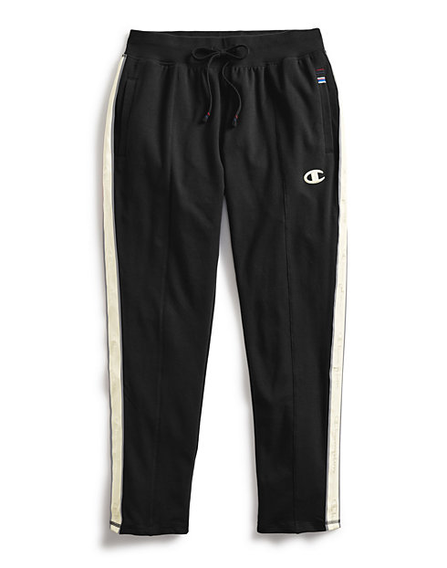 Champion Women's Heritage Fleece Pants, Satin Stitch C Logo