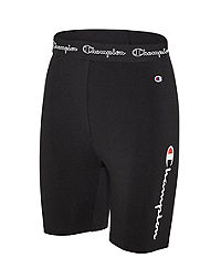 Champion Women's Everyday Bike Shorts, Multi-color Logo