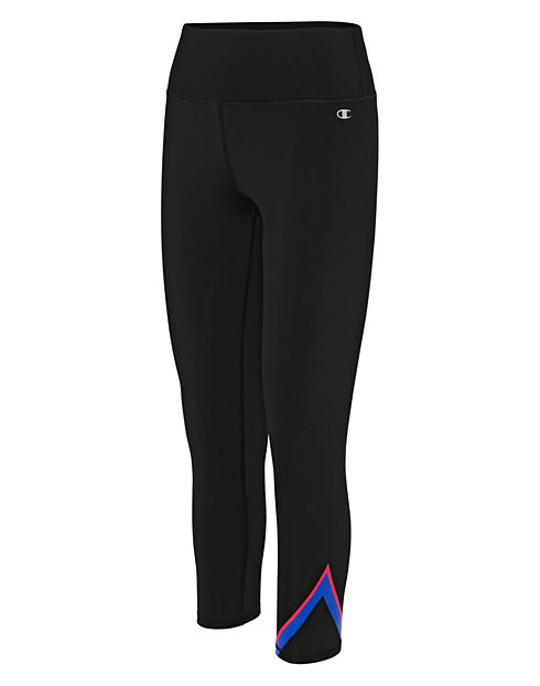 Champion Women's Graphic 7/8 Tights, V-Stripe