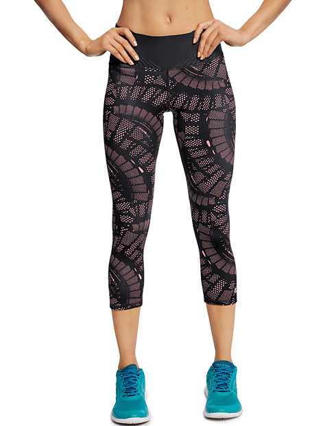 Champion Women's 6.2 Run Printed Capris
