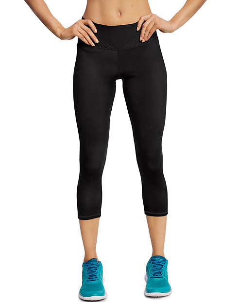 Champion Women's 6.2 Run Capris