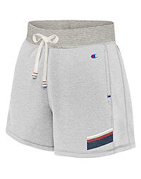 Champion Women's Heritage French Terry Shorts With Stripes
