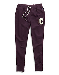 Champion Women's Heritage Fleece Joggers, Block C