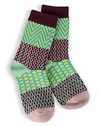 World's Softest® Girls Metro Crew Socks