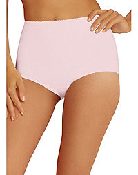 Hanes Women's Stretch Cotton Light Control Brief 2-Pack