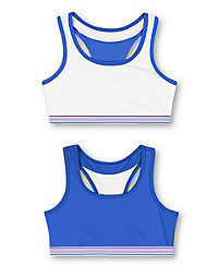 Hanes Girls' ComfortFlex Fit® Pullover Bra with Wide Racerback Straps 2-Pack