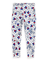 Champion Life® Women's High-Waisted All Over Print Tights