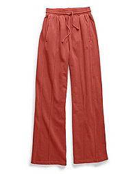 Champion Life® Women's Vintage Dyed High Waist Fleece Wide Leg Pants