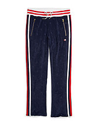 Champion Life® Women's Terry Warm Up Slim Flare Pants